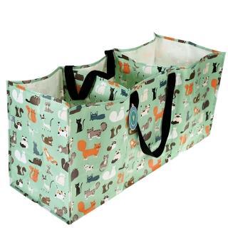 【英國 Rex London】玩具/衣物多功能防水環保收納袋/萬用袋_萌貓樂園(RL29051)