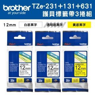 【brother】TZe-231+131+631
