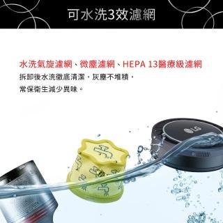 【LG樂金】A9+快清式無線吸塵器A9P-CORE(晶鑽銀)