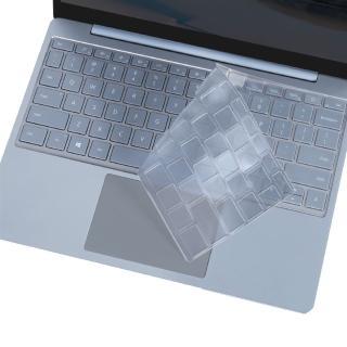 【Ezstick】Microsoft Surface Laptop Go 奈米銀抗菌TPU 鍵盤保護膜(鍵盤膜)