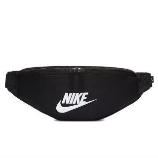 【NIKE 耐吉】黑白小腰包 Nike Heritage Hip Pack 腰包 小腰包 斜背包 側背包 運動包 可調式(BA5750-010)
