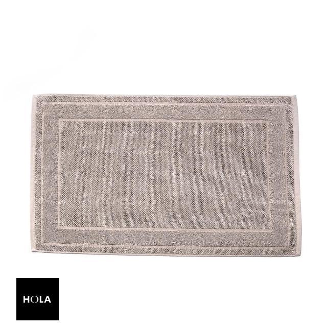 【HOLA】葡萄牙純棉緹花毛巾踏墊50x80cm