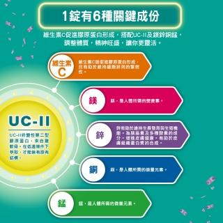 【挺立】關鍵迷你錠UCII 30錠/盒(90天提升靈活度 悠嬉兔)