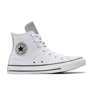 【CONVERSE】CTAS HI 高筒 基本款 百搭 兩色拼接 休閒鞋 女 白(570287C)