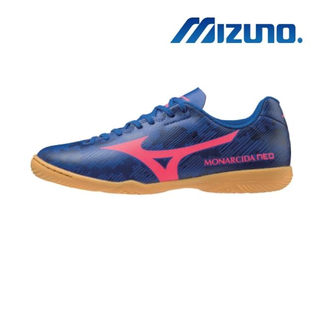 【MIZUNO 美津濃】MONARCIDA NEO SALA CLUB IN 男女室內足球鞋 寬楦(Q1GA201352)