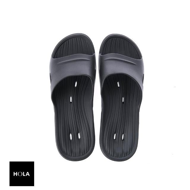 【HOLA】動態氣流家居鞋-深灰L/