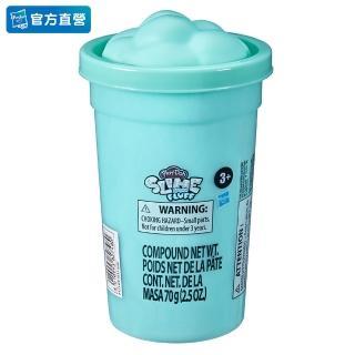 【PLAYDOH 培樂多】特殊黏土系列(蓬蓬雲朵史萊姆 藍綠色 F1531)