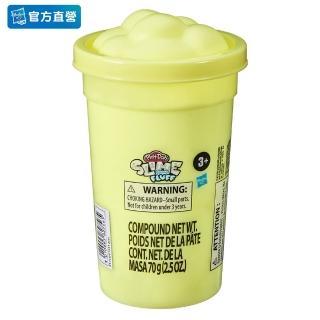 【PLAYDOH 培樂多】特殊黏土系列(蓬蓬雲朵史萊姆 黃色 F1531)
