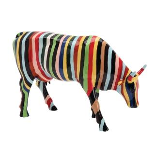 【富邦藝術基金會】2021限量藝術牛:條紋牛(CowParade