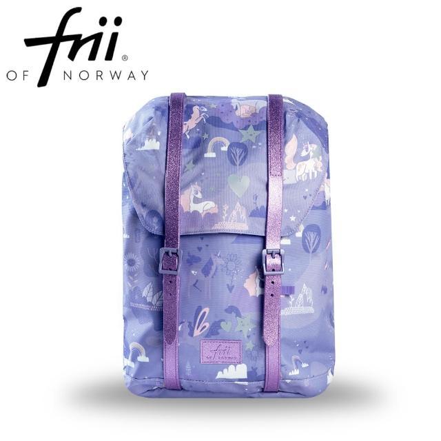 【Frii 自由】輕量護脊書包22L-贈筆盒(樂寶公司官方直營2021新款)