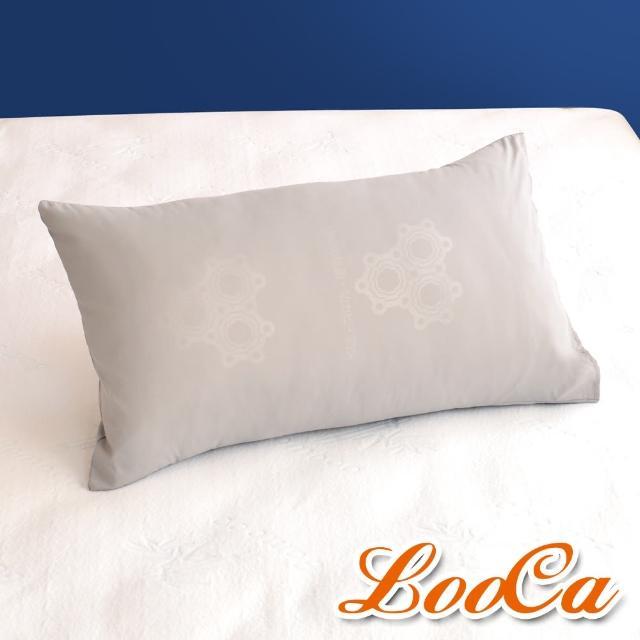 【LooCa】特濃石墨烯遠紅外線枕套(2入-母親節禮物)/