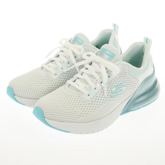 【SKECHERS】珍珠光澤氣墊/隱藏氣墊運動鞋(149164BKPK/149164LAV/149340BKTQ/149340NVCL)