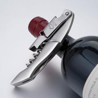 【PUSH!】餐具廚房用品加厚不鏽鋼紅酒開瓶器開蓋器葡萄酒香檳啟瓶器(D215-1)