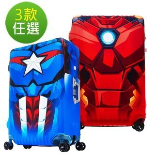 【Deseno★超值加購】Marvel漫威英雄防刮彈性箱套M號-適用24-25吋行李箱(多款任選)