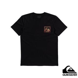 【Quiksilver】男款 男裝 針織T恤 HIGHWAY VAGABOND SS(黑色)