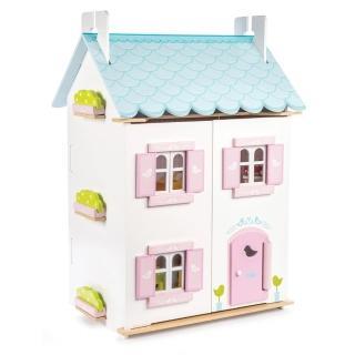 【LE TOY VAN】夢幻娃娃屋系列-蔚藍渡假娃娃屋(H138)