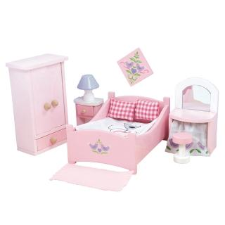 【LE TOY VAN】夢幻娃娃屋配件系列-Sugar Plum 現代休閒風系列 - 主臥室(ME050)