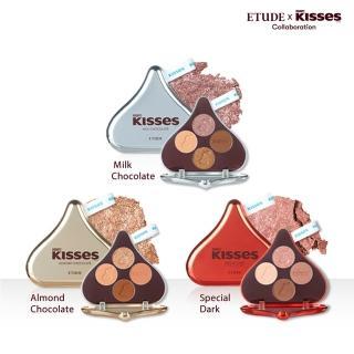 【ETUDE HOUSE】玩轉色彩四色眼彩盤#Kisses(加購)