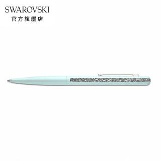 【SWAROVSKI 施華洛世奇】CRYSTAL SHIMMER 湖泊綠水晶圓珠筆