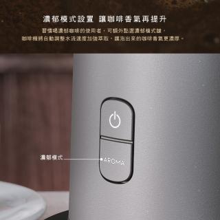 【4/6-18廚電滿額送哈根達斯+7.5%mo幣】伊萊克斯 滴漏式自動仿手沖美式咖啡機(E7CM1-50MT)