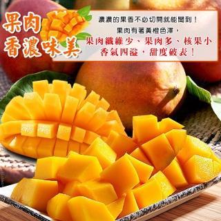 【禾鴻】屏東枋山阿憲山頂上的愛文芒果8-12顆(5斤x1盒)