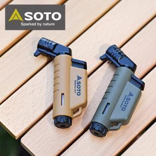 【SOTO】L型填充式掌中點火器 ST-486AG_軍綠/ST-486CT_狼棕