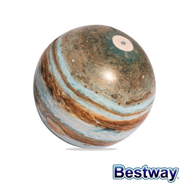 【BESTWAY】Bestway。銀河系木星LED發光海灘球