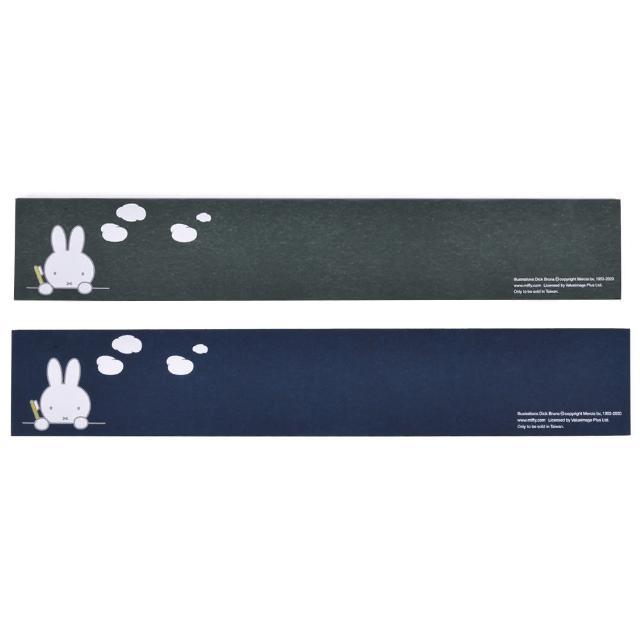 【怪獸】Miffy米飛兔 超吸版 軟式珪藻土鏡台吸水墊 60x10cm(2入組)