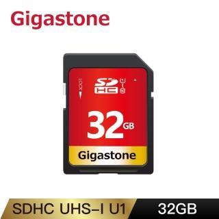 【Gigastone 立達國際】32GB SDHC SD UHS-I U1 C10 記憶卡(32G 單眼相機/攝錄影機專用記憶卡)
