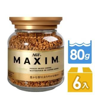 【AGF】箴言金咖啡x6入組(80g/罐)
