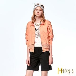 【MON'S】經典休閒舒適設計五分褲(3色任選)