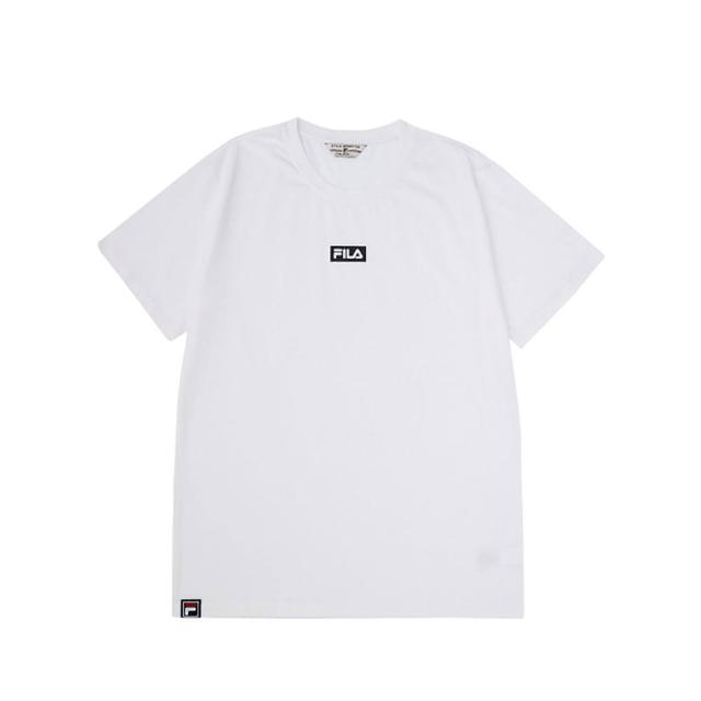 【FILA】短袖T恤 男女款 短袖圓領T恤-3色任選(1TEV-1527)