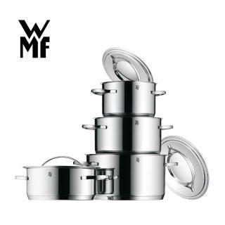 【WMF】GALA PLUS不鏽鋼湯鍋4鍋8件組