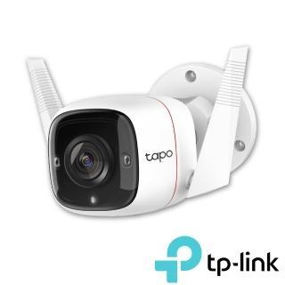 (128G記憶卡組)【TP-Link】Tapo C310 3MP高解析度 戶外防水 WiFi無線智慧高清網路攝影機(Wi-Fi無線攝影機)