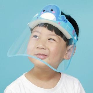 【HaNA 梨花】安全出行防疫優先.疫情期間防飛沫.大人兒童透明面罩4入組合(防護面罩)