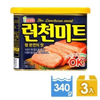 【LOTTE FOODS】午餐肉-340g(3入組)