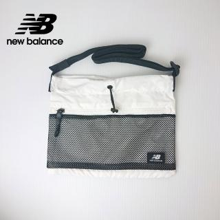 【NEW BALANCE】NB 韓系休閒斜背小包_男款/女款_白色_BGCBAA604WT(加價購商品)