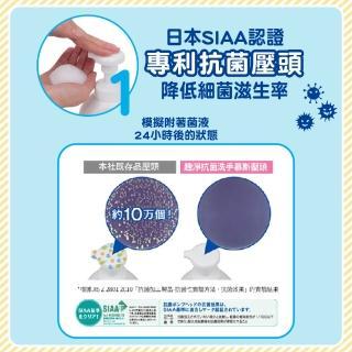 【LION 獅王】趣淨抗菌洗手慕斯超值補充瓶-柑橘/果香 任選2瓶(買一送一)