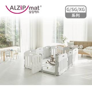 【Alzipmat】韓國遊戲地墊140x240cm SG 系列-奶灰色(不含圍欄)