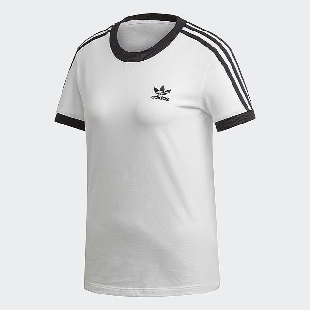 【adidas官方旗艦館】男 女 短袖上衣 3-Stripes (4款)
