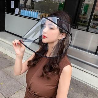 【Emi 艾迷】加價購-防疫透明帽用擋板1入(黑色)