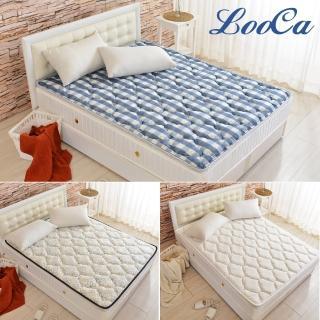 【LooCa】可水洗+超透氣支撐型日式床墊/野餐墊/露營墊-雙人5尺(任選款-加購)