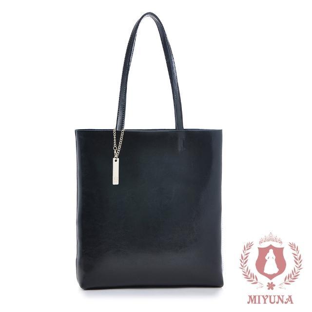 【MIYUNA 米友娜】優雅真皮鏈包/側背包(多款選)