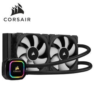【CORSAIR 海盜船】H100i RGB PRO XT水冷散熱器(組合用)