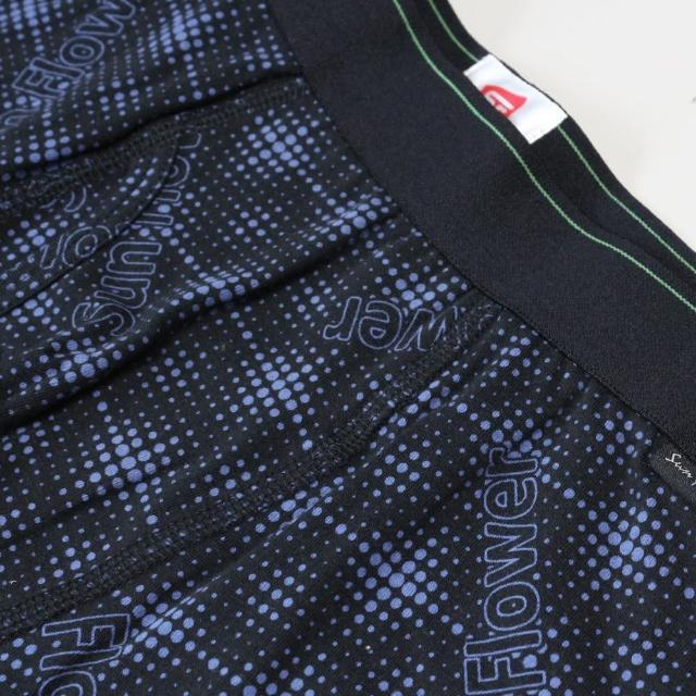 【SunFlower 三花】彈性時尚平口褲.四角褲.男內褲(星際藍/ 新品上市)