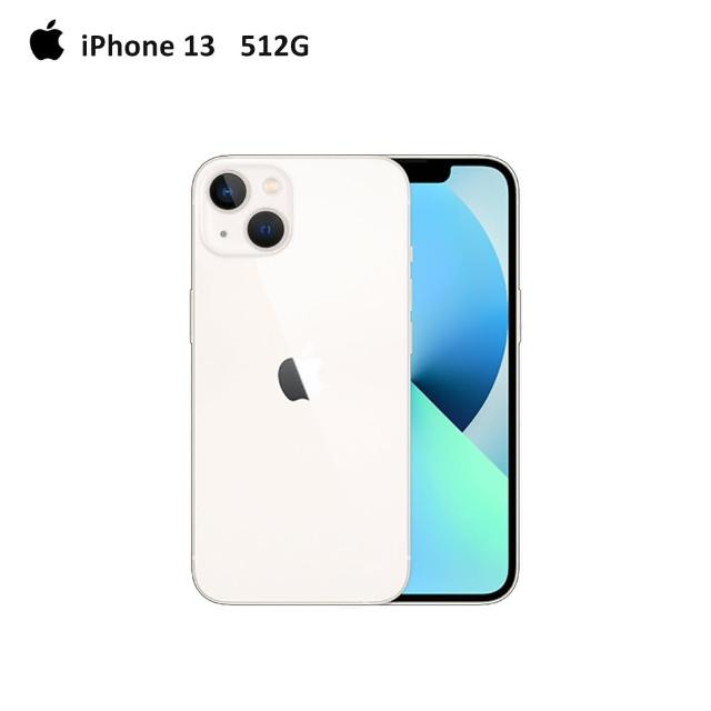 【Apple 蘋果】iPhone 13 512G(6.1吋)