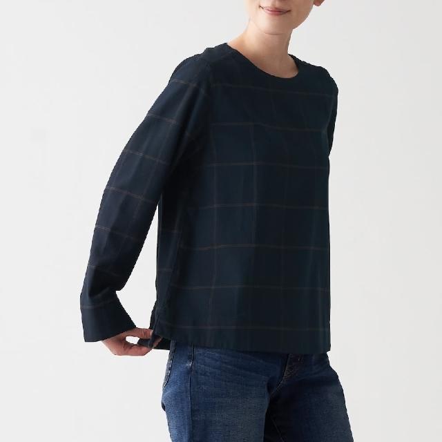 【MUJI 無印良品】女有機棉法蘭絨套衫(共8色)