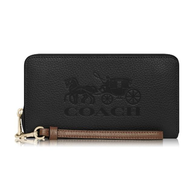 【COACH】熱銷品牌LOGO/大馬車/防刮ㄇ拉長夾(多款任選)