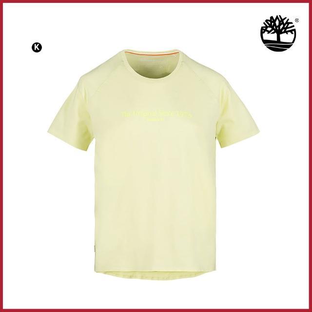 【Timberland】會員日獨家-男女款暢銷LOGO印花短袖T恤(多款任選)