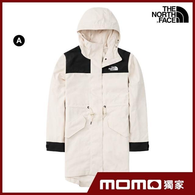 【The North Face】MOMO人氣組合-男女款必備衝鋒衣(多款可選)